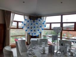 Big balloon heart for wedding