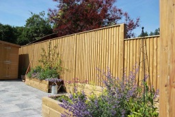 Full range of fencing and woodwork options