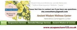 Mobile Acupuncture  in London | Hertfordshire |
