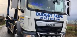 Budget Skip Hire Truck