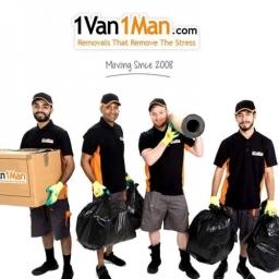 1 Van 1 Man Removals York