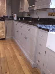 Respray kitchen doors