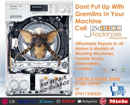 Tumble Dryer Repairs Derby