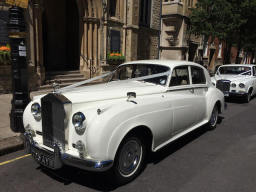 Silver Cloud Rolls Royce and Daimler Limousine