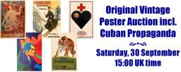 AntikBar Original Vintage Poster Auction