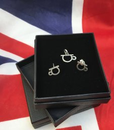 Very British Collection - Silver Chamber Jewellery