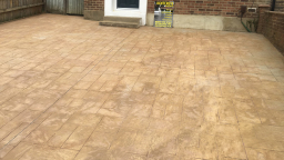 Pattern Imprinted Concrete Driveways in Kent
