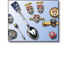 Gifts, cufflinks, tie tacks, pins. Log service awards
