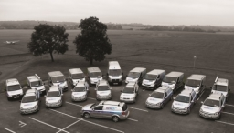 Airtech Fleet Of Service Vans Ready For Action In London