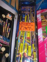Callisto  27 Selection Box  £24.95