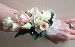 Wrist Corsages by Flower Design, Ripon
