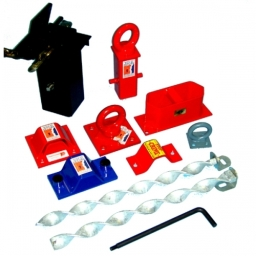 Ground Anchors - the security point for your motorcycle, lawnmower, etc