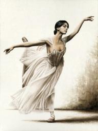 Demure Ballerina