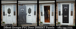 pvc door insert panels fitted