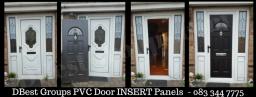 pvc door insert panels