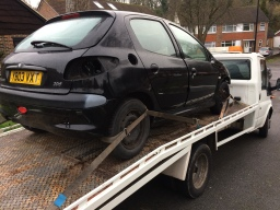 scrap car from croydon