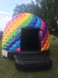 Disco Dome bouncy Castle Hire Swanley & Bexley