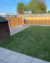 Garden transformation services in Widnes, Cheshire