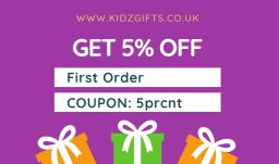 Get 5% OFF at Kidz Gifts Wholesale