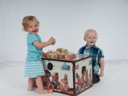 HappyKids at play during photo shoot