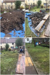 rubble and soil clearance