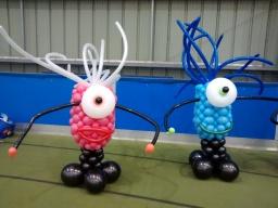 Meet balloon monsters