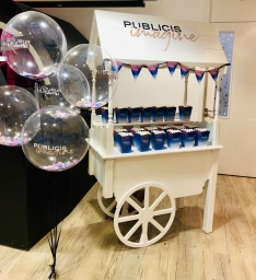 sweet cart candy cart branded personalised customi