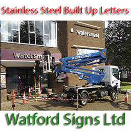 Stainless Steel and Built Up Sign Letters