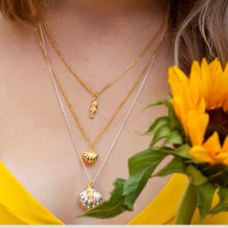 Lily Blanche Seahorse necklaces