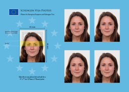 Schengen Visa photos