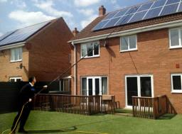 Solar Panel Cleaning Leicester Pure Water Cleaners