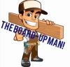 The board up man