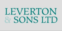 Levertons Logo Mod Stacked Grey