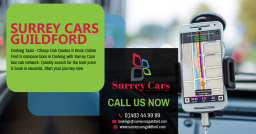 Surrey Airport Taxis