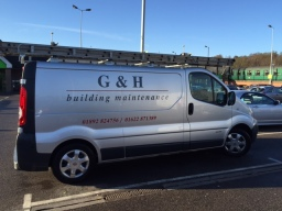 G & H Builders van