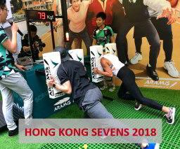 Aramis Rugby Digital Scrum machine at HK Sevens