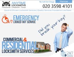 Anytime Locksmiths |0203 598 4101