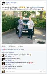 Happy BGT Finalist Passes Driving Test