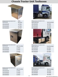 Aluminium & Stainless Truck Toolboxes