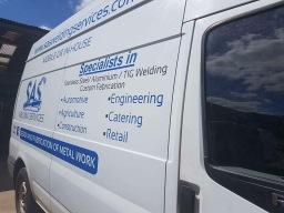 SAS Welding Services Van