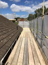 Access for loft conversion for a loyal customer