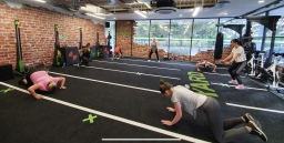 The YARD training and class space at energie Fitne