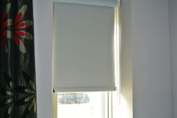 Roller Blind with wrapped end