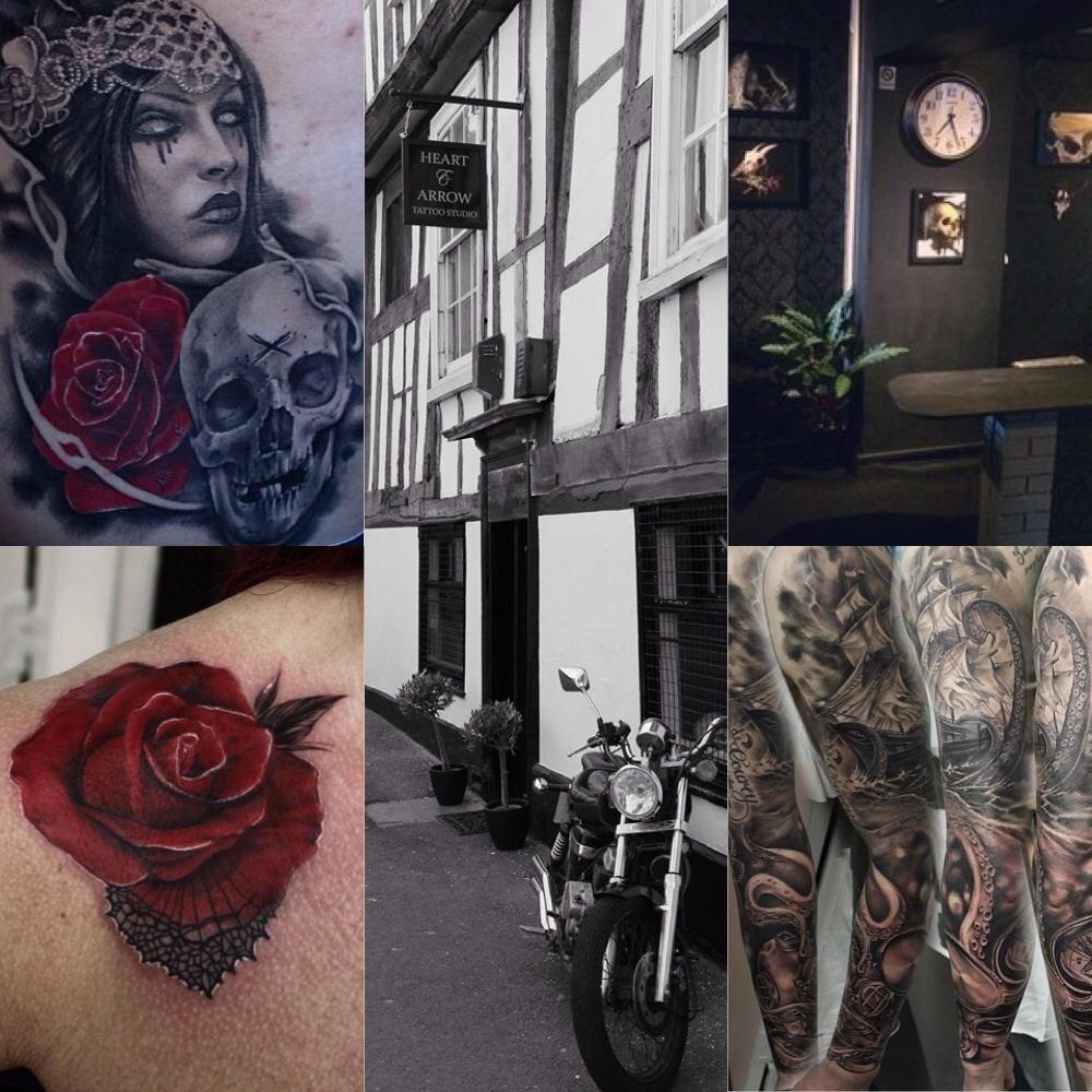c26c1e9dc8237 Heart & Arrow Tattoo studio Perches House, Windsor Place, Shrewsbury ...