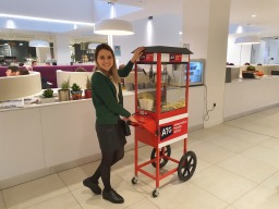 personalised pocporn cart hire aylin sweets