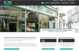 Hayes Commercial Property Management Website