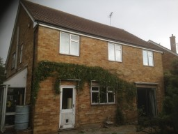 Concrete Gutter removed & replaced with aluminium