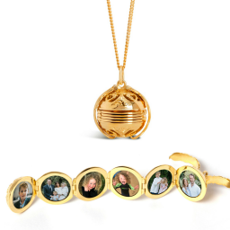 Lily Blanche Memory Keeper Lockets - 6 photos