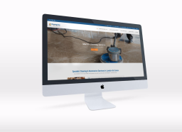 Website design for specialist cleaning company