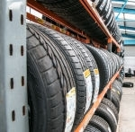 Images Of Tyres On Racking Shelves